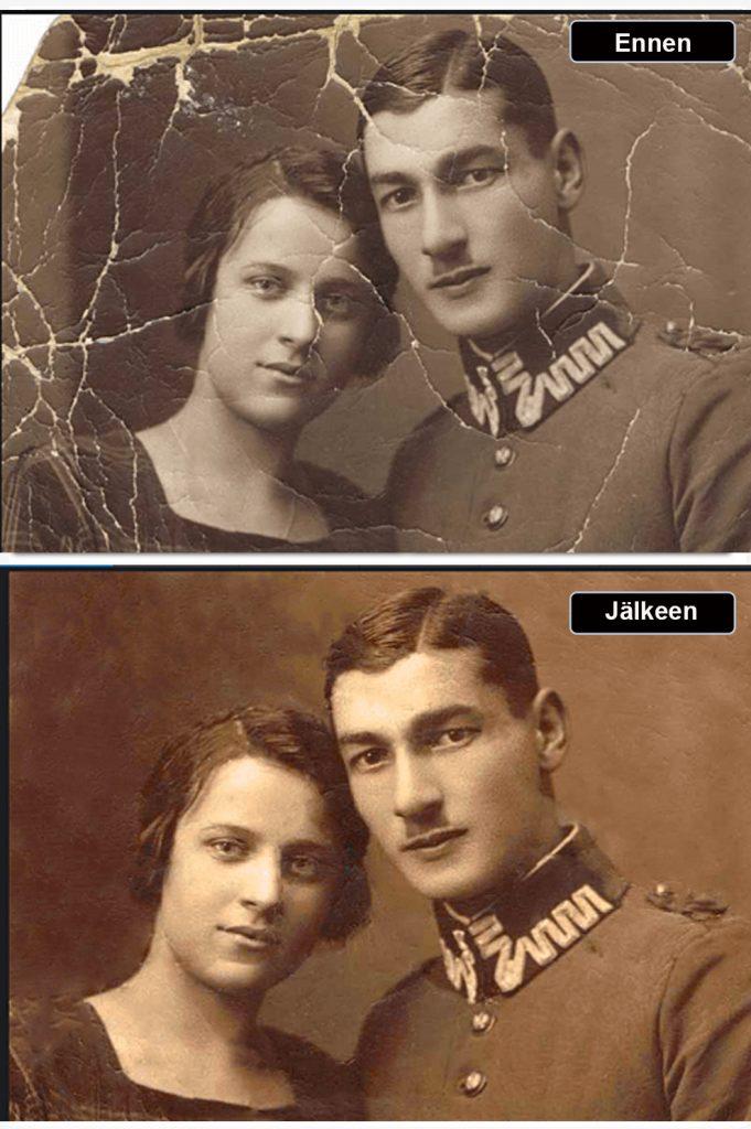 Mallikuva -Valokuvaaja - retusointi 2