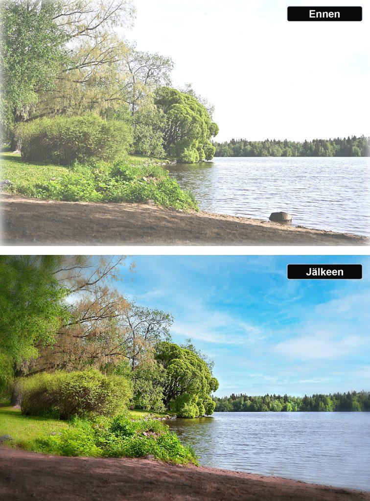 Mallikuva -Valokuvaaja - retusointi 3